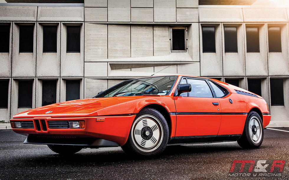 BMW M1 - frontales