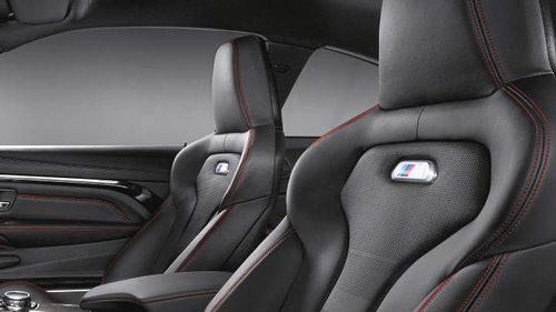 BMW M4 2017 - Asientos negros