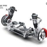 Audi SQ5 TFSI 2017 - Suspensión