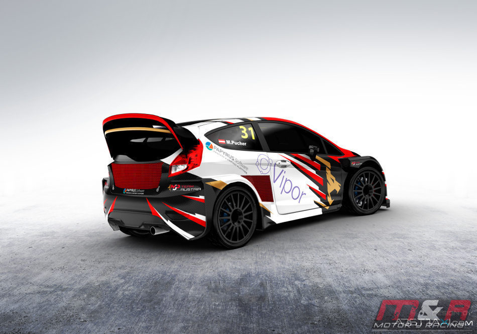 Ford Fiesta de MJP Racing Team Austria
