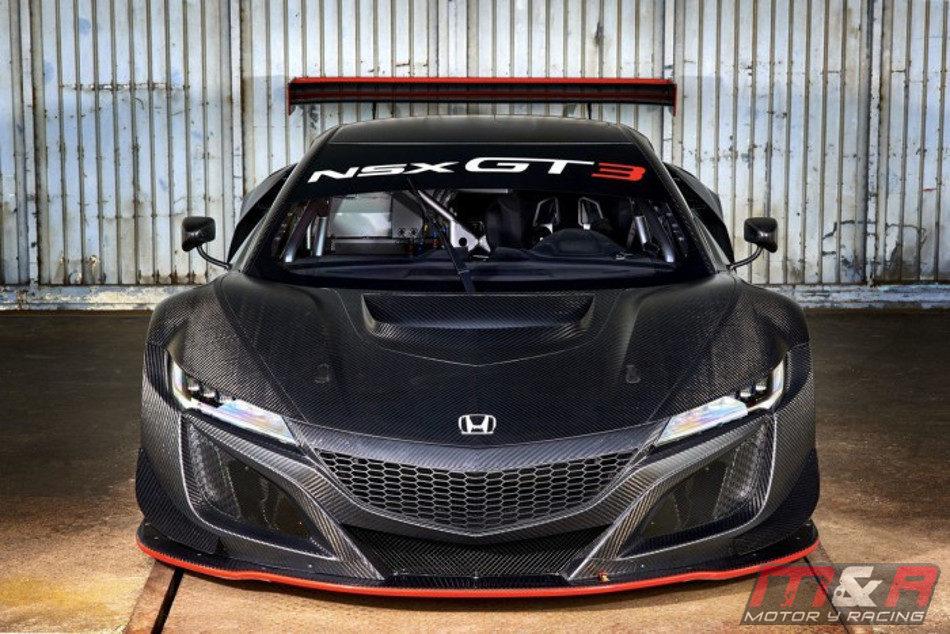 Honda presentó el Honda NSX GT3 de competición-5
