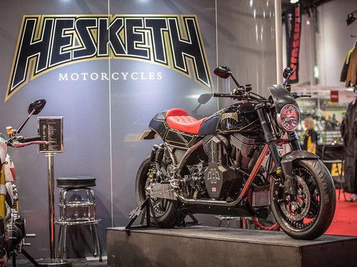 Hesketh presentó la edición especial Valiant