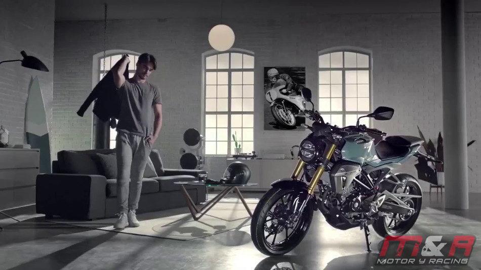 Honda presentó la CB150R EXMOTION 2018 en Milán
