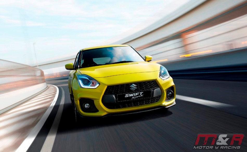Suzuki se presenta con el nuevo Swift Sport 2018