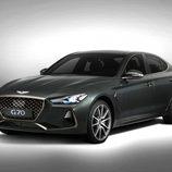 Genesis presentó el nuevo G70