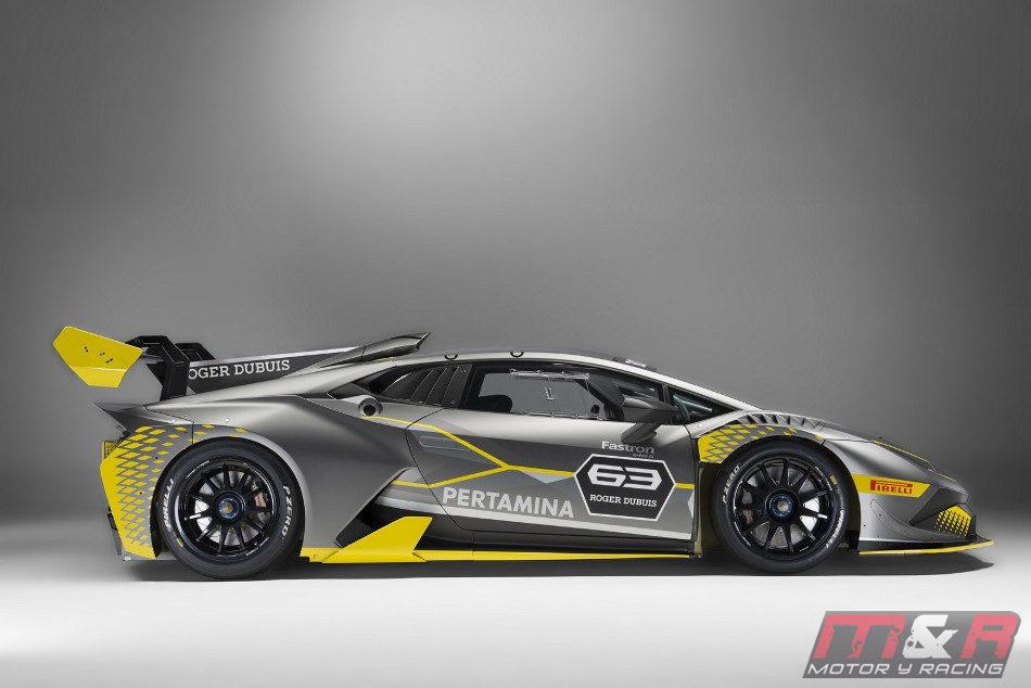 Lamborghini presentó el deportivo Huracán Súper Trofeo EVO - Radio ...