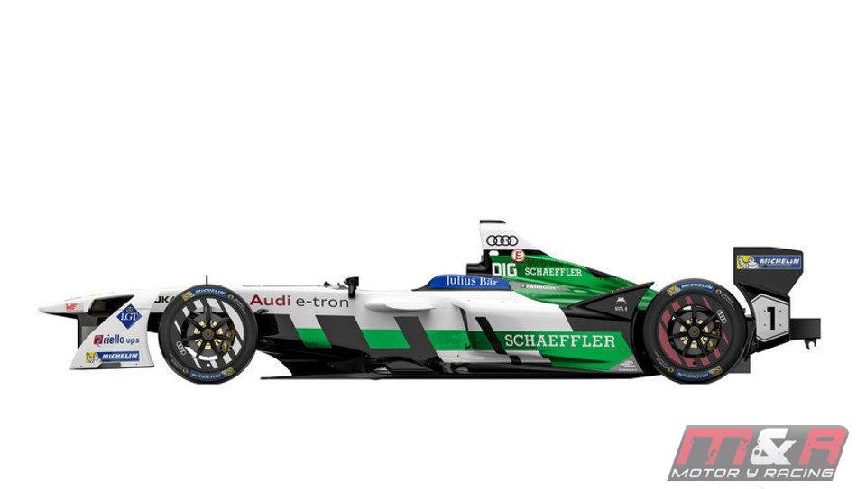 Audi presentó su bólido e-tron FE04