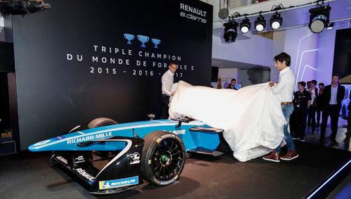 Renault e.dams presentó el Z.E.17