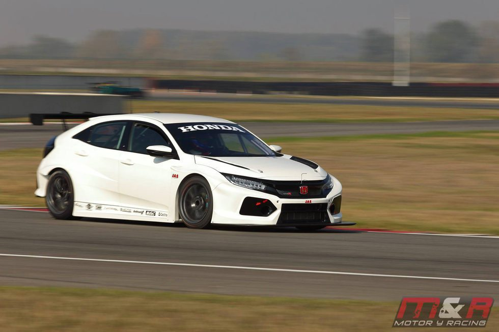 Honda Civic Type R TCR 2018