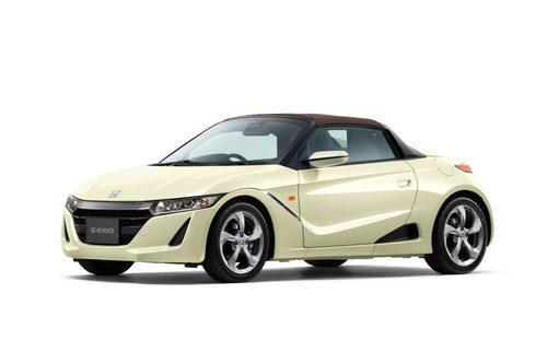 Honda presentó el S660 B special #komorebi edition