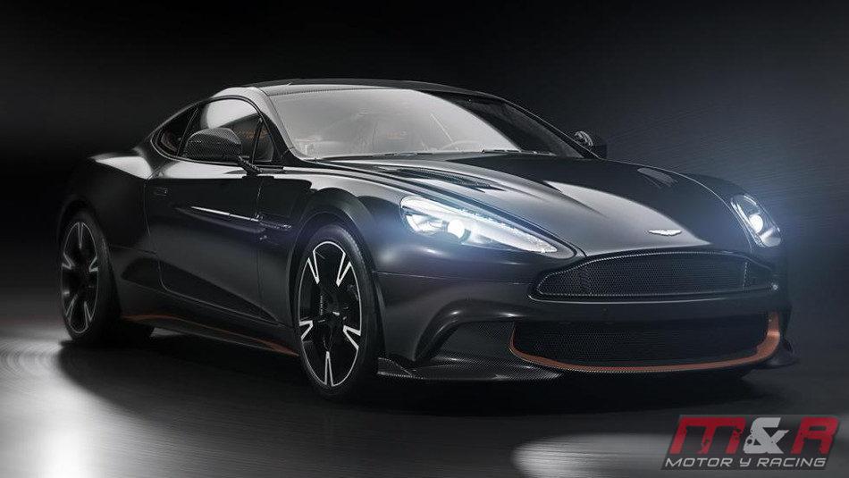 Aston Martin mostró el poderoso Vanquish S Ultimate