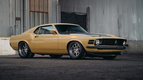 Speedkore nos presenta un impresionante Ford Mustang Boss 1970