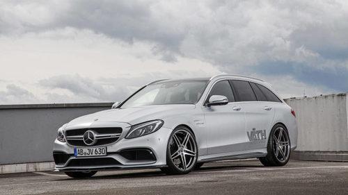 Mercedes-AMG C 63 Estate al límite con Väth