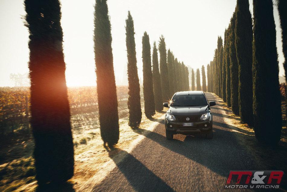 Fiat presentó la nueva Fullback Cross
