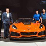 Desvelado el nuevo Chevrolet Corvette ZR1 2018