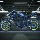 Yamaha MT-07 2018 renueva su cara