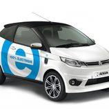 Aixam presentó el eCity y el eCoupé eléctricos para España