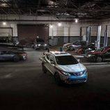 Nissan presentó modelos alegóricos a Star Wras