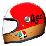 AGV se luce con nuevo modelo y colección de leyendas