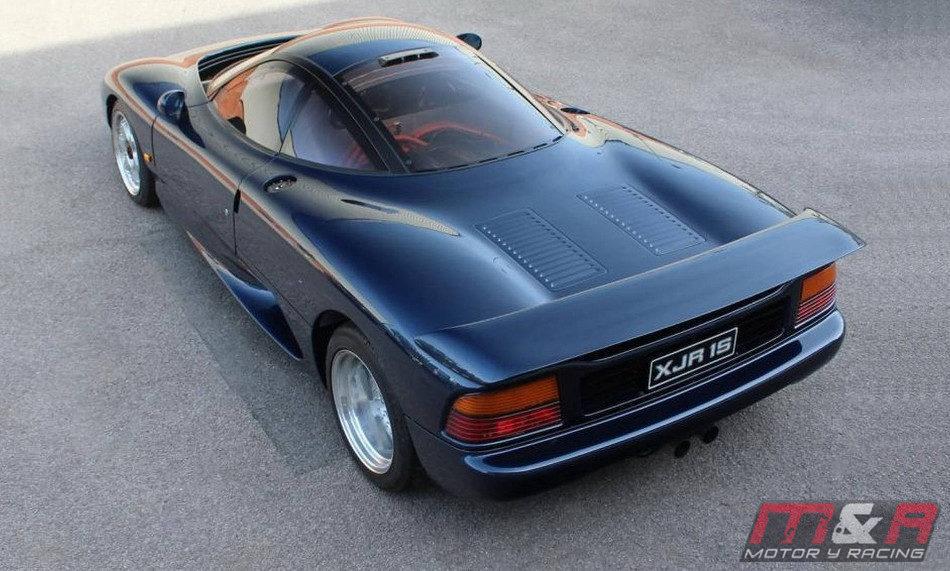 A la venta un clásico Jaguar XJR-15 - Galería en Motor y ...