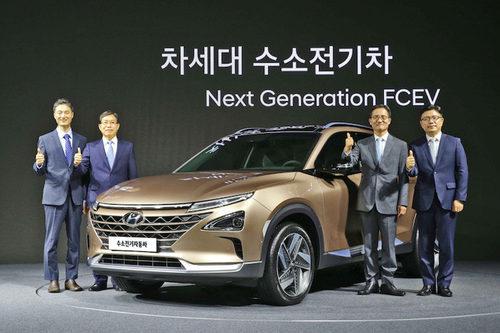 El novedoso Hyundai FCEV directo al CES 2018