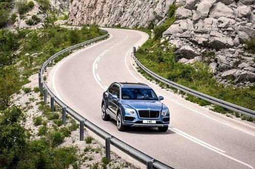 Bentley prepara el Bentayga híbrido para Ginebra