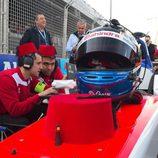 Felix Rosenqvist triunfó en el Eprix de Marrakech de la Fórmula E