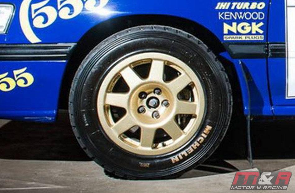 Un Subaru Legacy RS Rally Car puede ser tuyo