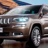 Jeep anunció el lanzamiento del Grand Commander
