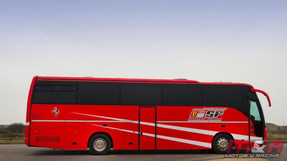 A la venta el bus motorhome usado por Michael Schumacher