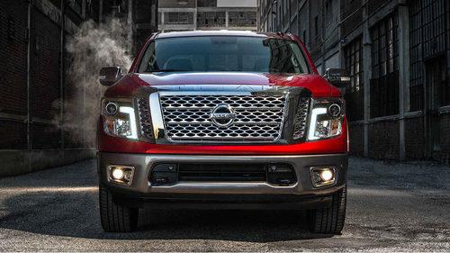 Nissan presentó la Titan 2018