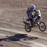 Olivier Pain cierra el podio en motos