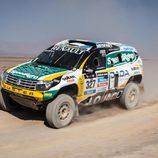 Emiliano Spataro con el Renault Duster