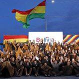 El recibimiento de Bolivia