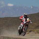 Gerard Farrés no pudo finalizar el Dakar