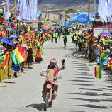 Joan Barreda entrando en Bolivia