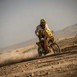 Stefan Svitko y su KTM amarilla