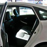 Toyota Prius: Detalle plazas traseras