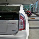 Toyota Prius: Esquina trasera