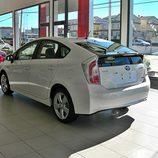 Toyota Prius: 3/4 trasera izquierda