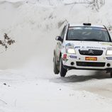 Risto Immonen con el Citroën C2