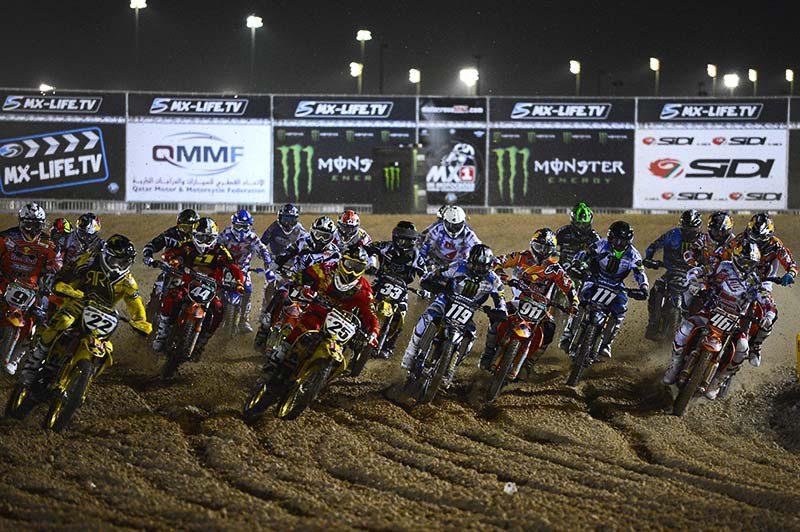 MXGP Qatar 2013 Salida SuperFinal