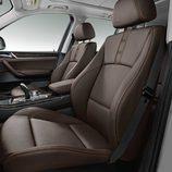 BMW X3: Asientos