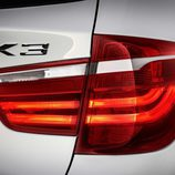 BMW X3: piloto trasero