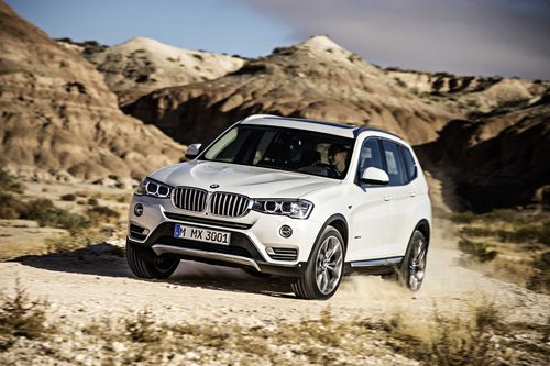 BMW X3: Sport Activity Vehicles