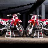 Honda MXGP 2014 motos Nagl y Bobryshev