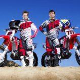 Honda MXGP 2014: Max Nagl y Evgeny Bobryshev