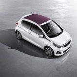 Peugeot 108: Desde el aire
