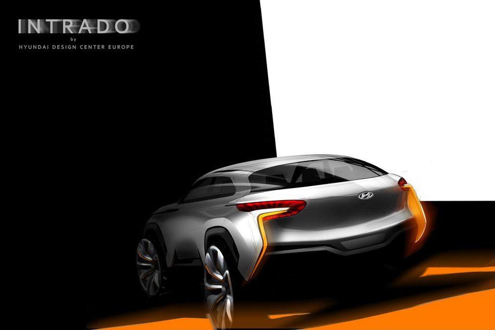 Hyundai Intrado Concept - teaser