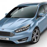 Ford Focus 2015 carrocería familiar frontal